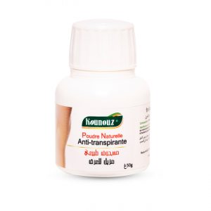 Poudre Naturelle Anti-Transpirante