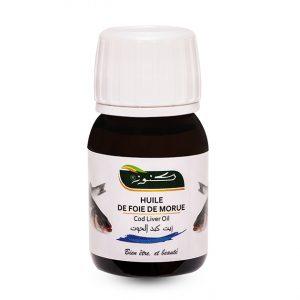 huile de foie de morue Naturelle Tunisie